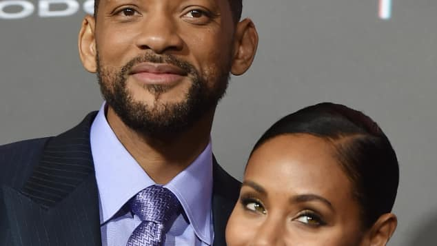 Will Smith mit Ehefrau Jada Pinkett-Smith dementieren Trennung
