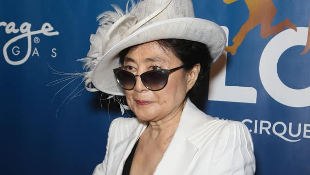 "Yoko Ono bei ""The Beatles LOVE by Cirque du Soleil"""