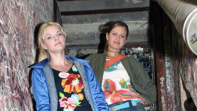 Yvonne Catterfeld und Josephine Schmidt spielten gemeinsam bei GZSZ mit