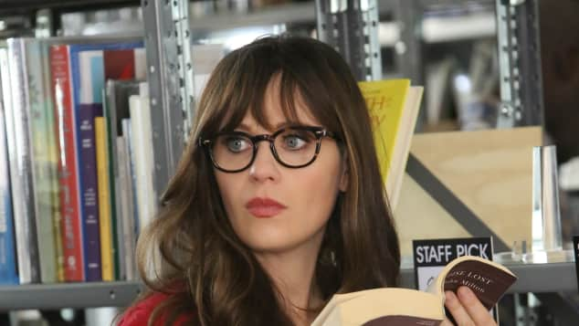 "Zooey Deschanel in ""New Girl"""