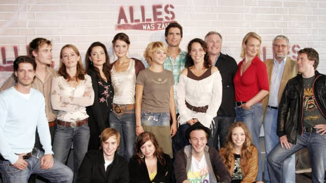 """Alles was zählt""-Cast 2006"