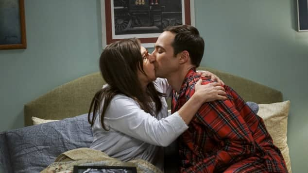 """Sheldon"" und ""Amy"" aus ""The Big Bang Theory"""