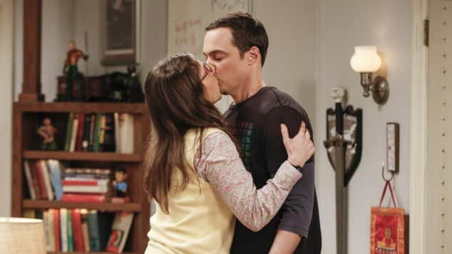 """Amy"" (Jim Parsons, 44) und ""Sheldon"" (Mayim Bialik, 41) aus ""The Big Bang Theory"""