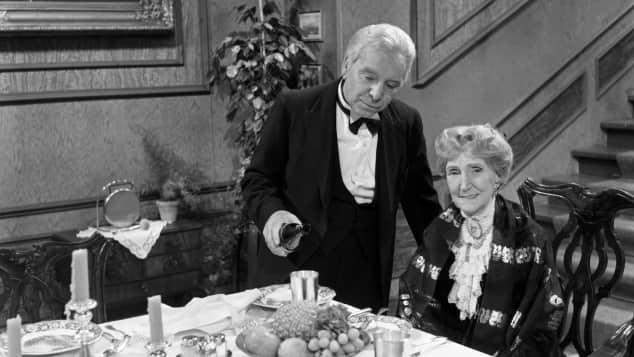 """Dinner for One"" ""Butler James"" ""Miss Sophie"""