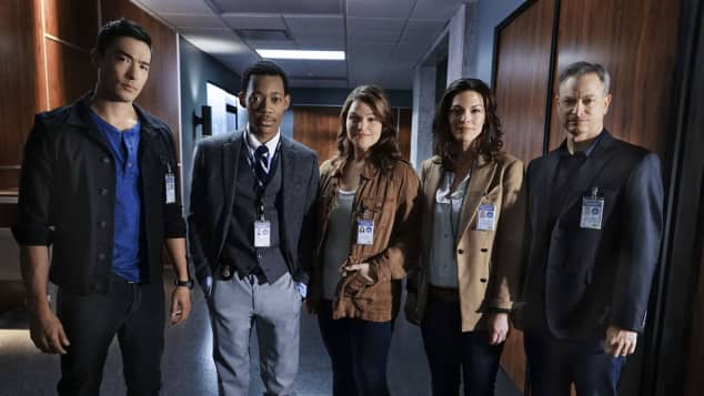 """Criminal Minds: Beyond Borders""-Cast"