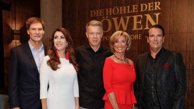 """""""Die Höhle der Löwen"""" startet 2017 in eine neue Runde mit den Investoren Carsten Maschmeyer, Judith Williams, Frank Thelen, Dagmar Wöhrl und Ralf Duemmel"""