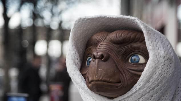 """Der Außerirdische """"E.T."""""""