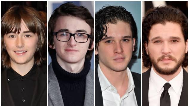 """Game of Thrones""-Cast: Früher/Heute"