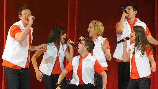 """Die Darsteller der Serie """"Glee"""""""