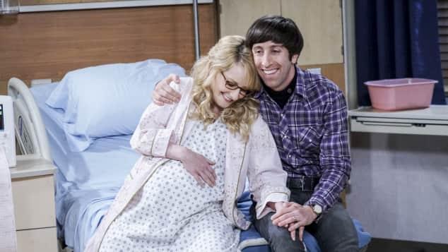 """""""Bernadette"""" und """"Howard"""" aus  """"The Big Bang Theory"""" sind Eltern geworden"""