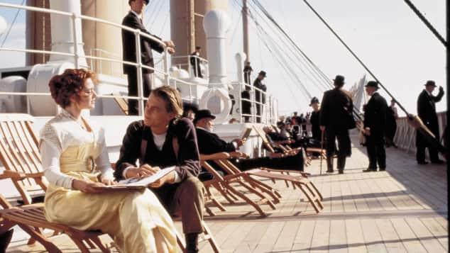 """""""Jack"""" und """"Rose"""" in """"Titanic"""""""