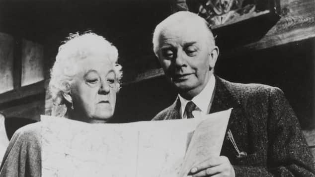 """Margaret Rutherford war """"Jane Marple"""" und Stringer Davis war """"Jim Stringer"""""""