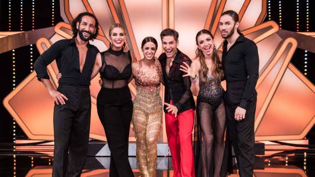 """Let's Dance""-Finalisten: Massimo Sinato & Angelina Kirsch, Vanessa Mai und Christian Polanc und Ekaterina Leonova und Gil Ofarim"