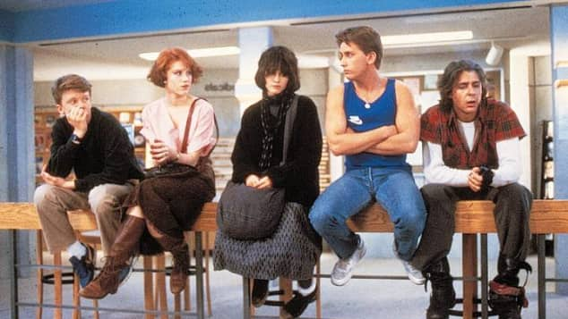 """The Breakfast Club"" - Bild aus dem Film"