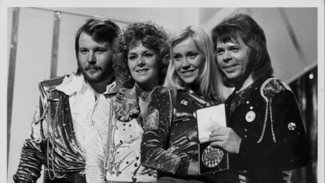 ABBA 1974 ESC Comeback Reunion