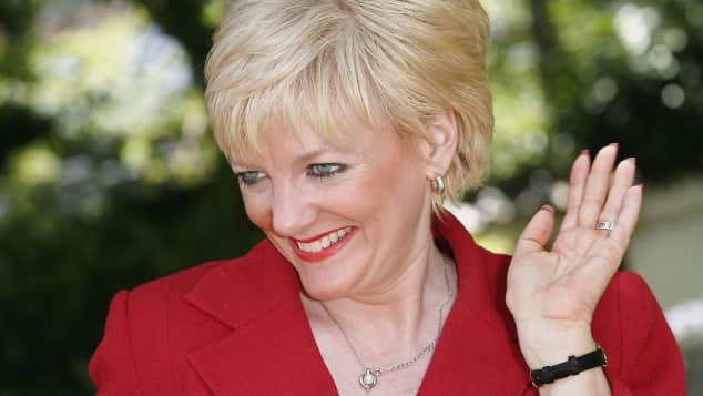 Alison Arngrim at the 46th annual Monte Carlo Television Festival in Monte Carlo in 2006