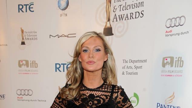 Alison Doody bei einer Preisverleihung in Irland