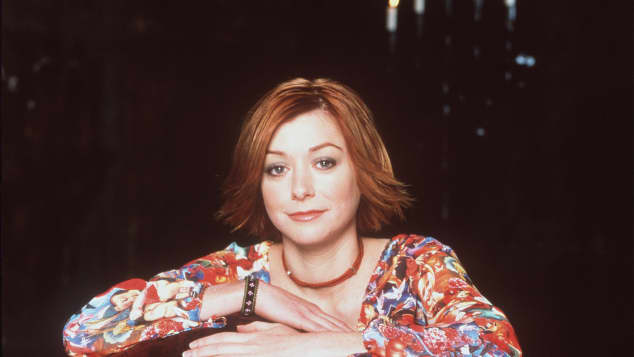"Alyson Hannigan als ""Willow""in ""Buffy"""