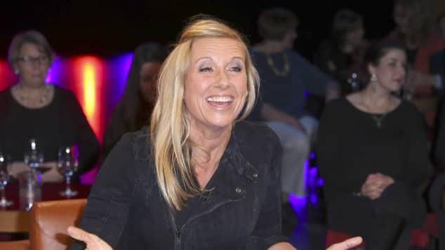 Andrea Kiewel moderiert den Fernsehgarten im ZDF