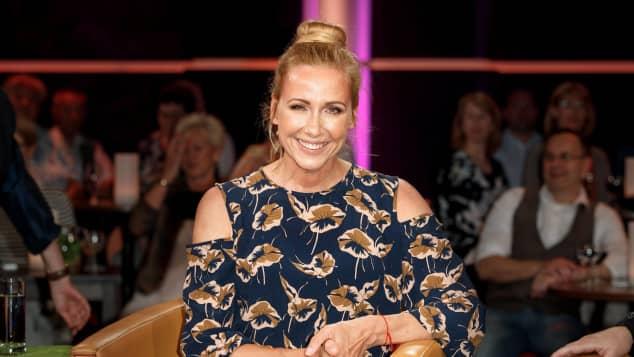 Andrea Kiewel moderiert mit Unterbrechungen seit 2000 den ZDF-Fernsehgarten
