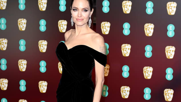 Angelina Jolie bei den BAFTA Awards in London