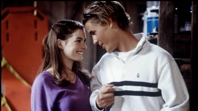 """Anne Hathaway und Erik von Detten in """"Plötzlich Prinzessin"""""""