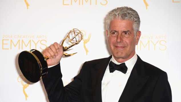 Anthony Bourdain, Anthony Bourdain Emmys, Anthony Bourdain Emmys 2018, Emmys 2018, Starr Koch Anthony Bourdain