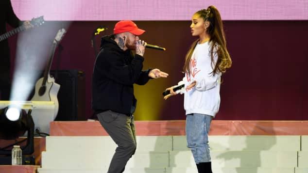 Ariana Grande und Mac Miller bei einem gemeinsamen Auftritt