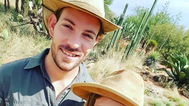 Bauer Gerald Anna Namibia verliebt