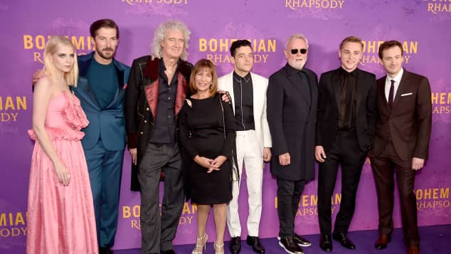 Bohemian Rhapsody Cast Bandmitglieder Queen Freddie Mercury Schwester