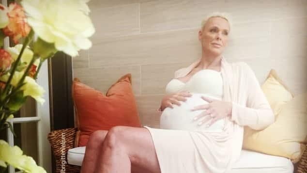 Schauspielerin Brigitte Nielsen ist schwanger, Brigitte Nielsen schwanger, Brigitte Nielsen