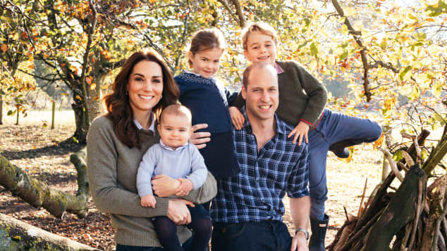 Duchess Catherine, Prince George, Princess Charlotte and Prince Louis