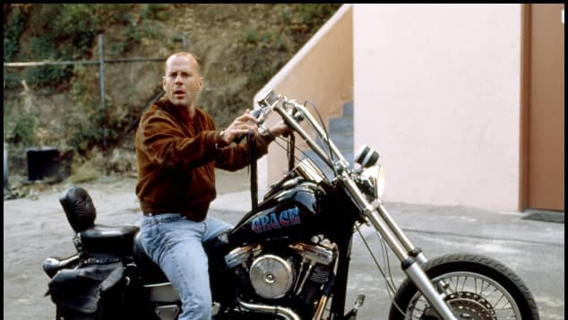 """Bruce Willis in """"Pulp Fiction"""""""