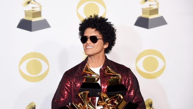 Bruno Mars gewann sechs Grammys