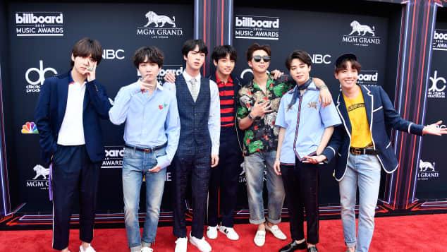 BTS Band K-Pop koreanisch