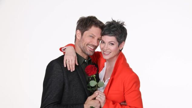 """Mickey Hardt und Cheryl Shepard als """"Rote Rosen""""-Traumpaar"""