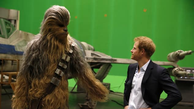 Chewbacca Prinz Harry Star Wars