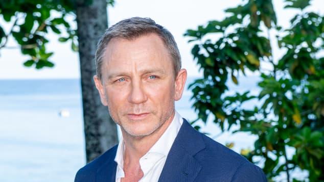 "Daniel Craig at the Bond 25 film launch at Ian Fleming's Home ""GoldenEye""."