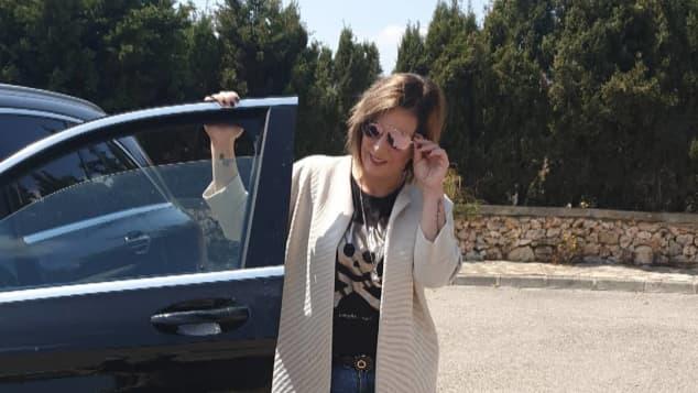 Daniela Büchner im April 2019