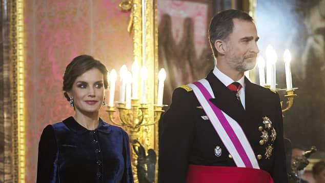 So elegant ist Königin Letizia von Spanien
