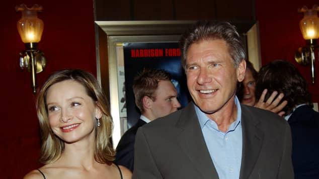 Harrison Ford und Calista Flockhart im Jahr 2002