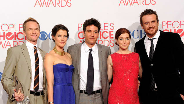 Neil Patrick Harris, Cobie Smulders, Josh Radnor, Alyson Hannigan and Jason Segel
