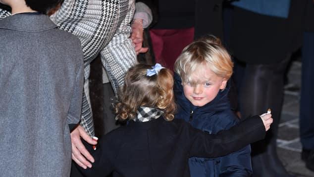 Prinz Jacques und Prinzessin Gabriella sind super niedlich
