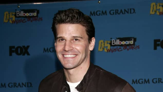 "David Boreanaz zum Start der Serie ""Bones"" 2005"