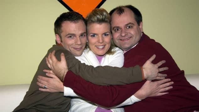 """""""Die dreisten Drei"""": Ralf Schmitz, Mirja Boes und Markus Majowski"""