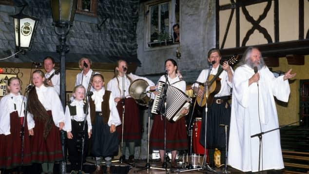 Die Kelly Family im Jahr 1989