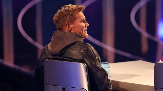 Dieter Bohlen während der ersten DSDS-Live-Show