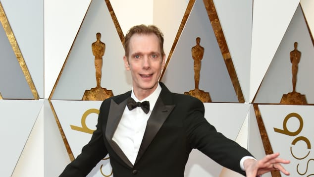 "The Shape of Water, Doug Jones als Amphibienmensch, Doug Jones in the Shape of Water, Doug Jones bei den Oscars, Doug Jones aus ""The Shape of Water"", Doug Jones bei den Oscars 2018"