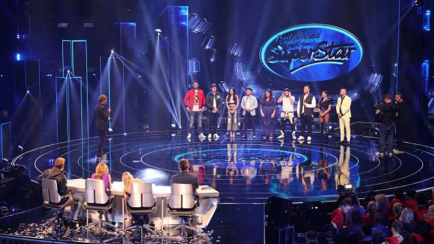DSDS-Kandidaten in der ersten Live-Show