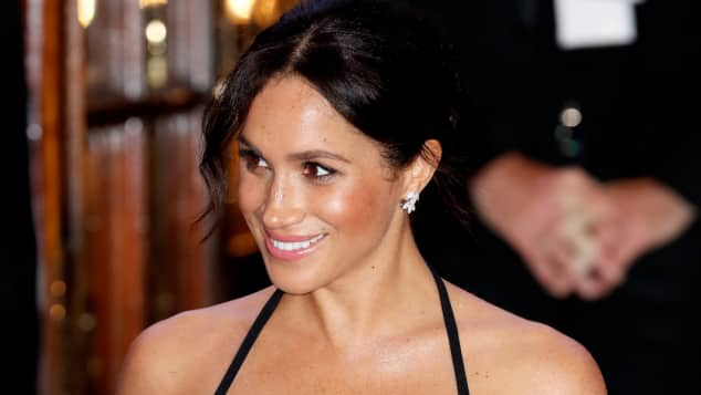Duchess Meghan at the Royal Variety Performance 2018